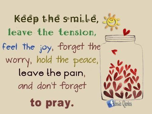 Keep The Smile, Leave The Tension.. Pictures, Photos, And