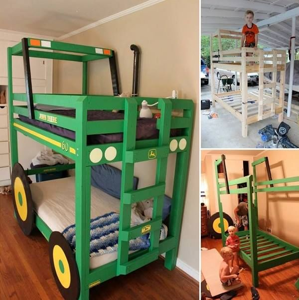 how to make a tractor bunk bed pictures photos and bedroom how to make a bunk bed bunk bed twin bunk beds