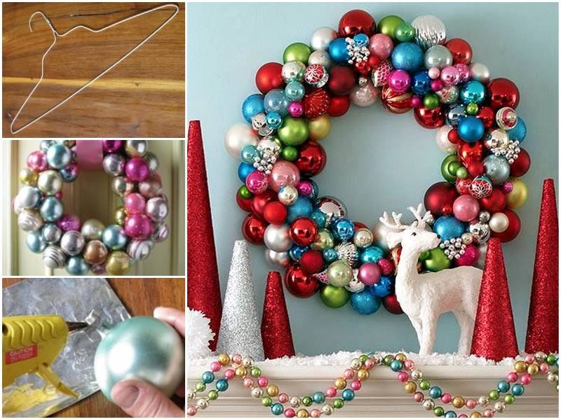 How To Make Bauble Wreath Pictures Photos And Images For