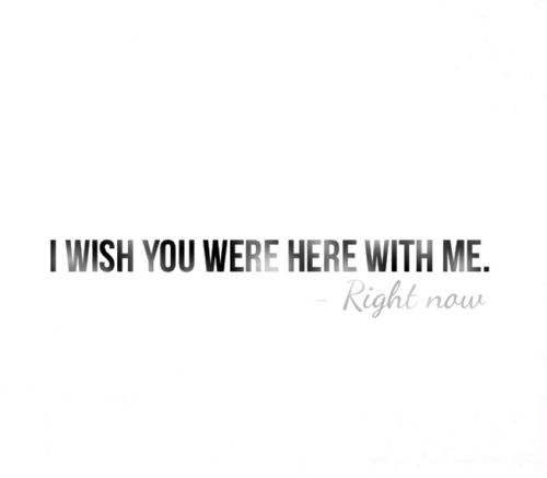 Wish You Were Here Quotes Extraordinary I Wish You Were Here With Me Pictures Photos And Images For