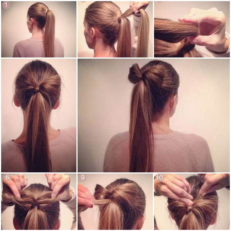 How To Make A Bow Ponytail Pictures Photos And Images For Facebook