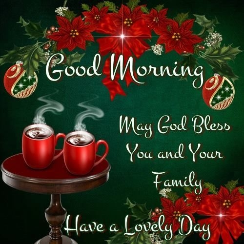 Christmas Good Morning Quotes: Good Morning Have A Lovely Day Pictures, Photos, And