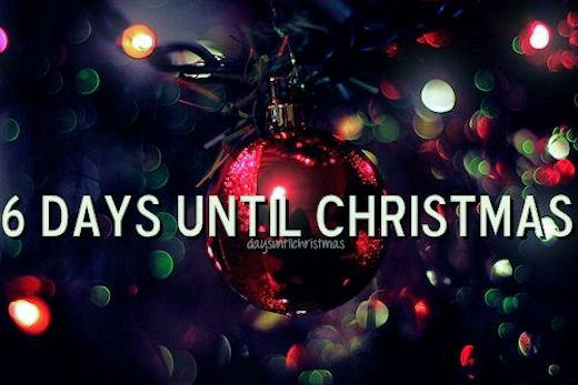 6 Days Until Christmas Pictures Photos And Images For