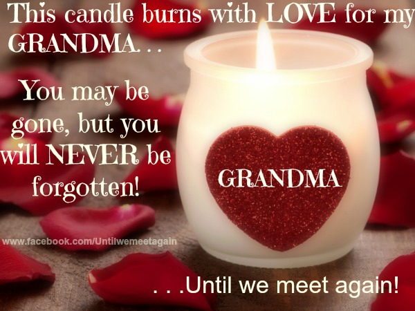 Valentines Day Quotes For Grandma: My Grandma In Heaven Pictures, Photos, And Images For