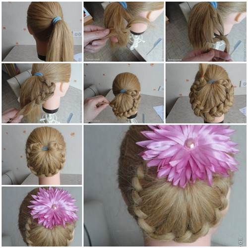 How To Make A Ponytail Braid Pictures Photos And Images For