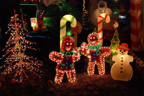 Christmas Outdoor Light Decorations