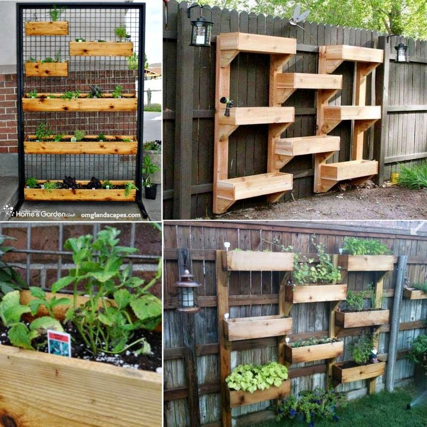 How To Make A Vertical Herb Garden Pictures Photos and Images