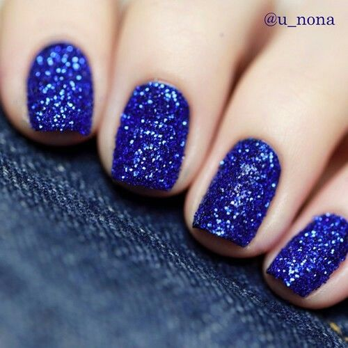 Nail Art On Navy Blue Nails: Navy Blue Glitter Nails Pictures, Photos, And Images For