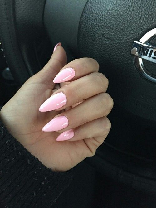 Light Pink Stiletto Nails Pictures, Photos, and Images for Facebook ...