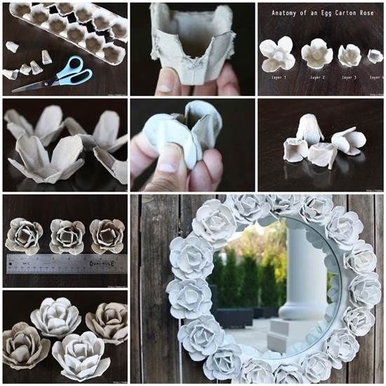 Diy mirror decor pictures photos and images for facebook - Trucs et astuces deco recup ...