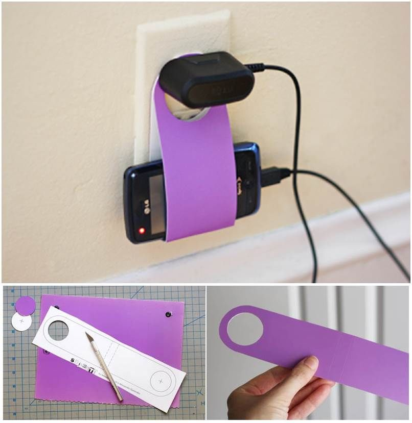 Diy Cell Phone Charging Holder Pictures Photos And Images