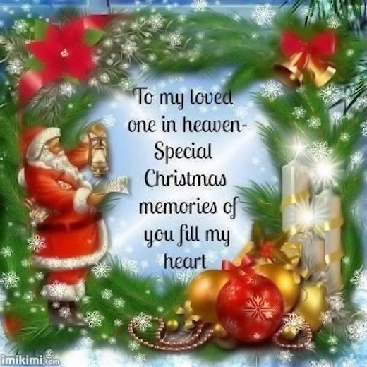 Missing Someone At Christmas Quotes: To My Loved Ones In Heaven Pictures, Photos, And Images