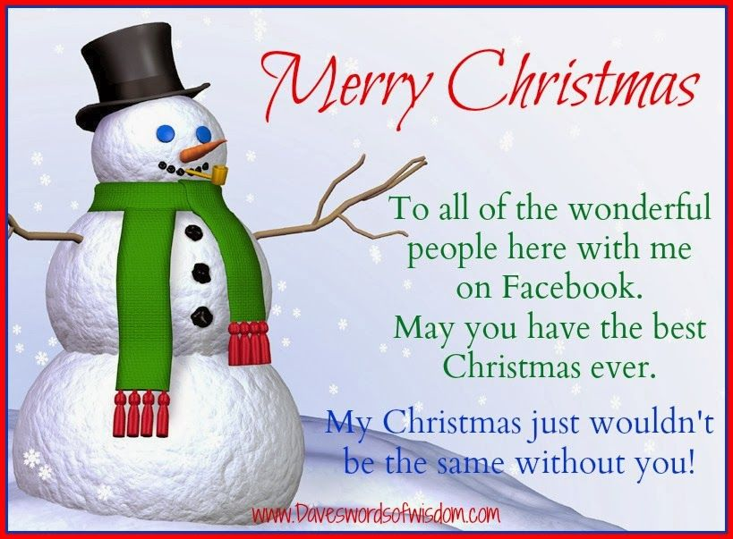 Merry Christmas Facebook Friends Pictures, Photos, And