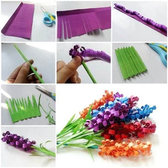 How to make curly paper flowers pictures photos and images for how to make curly paper flowers mightylinksfo