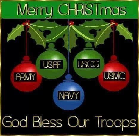 Merry Christmas God Bless Our Troops Pictures, Photos, and Images ...