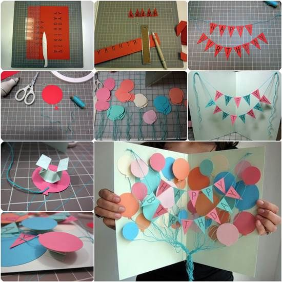 Create A Balloon Card And Banner s and