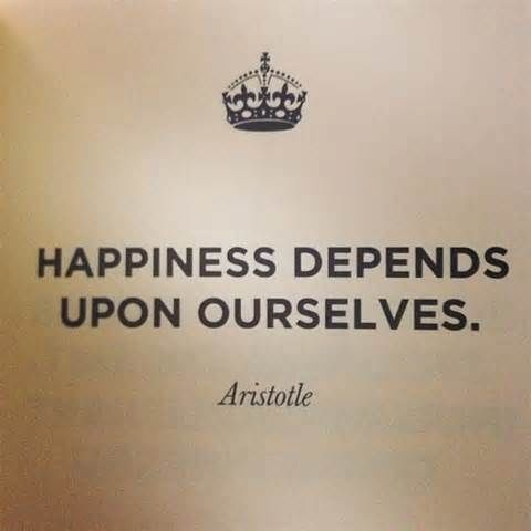 essay on happiness depends upon ourselves