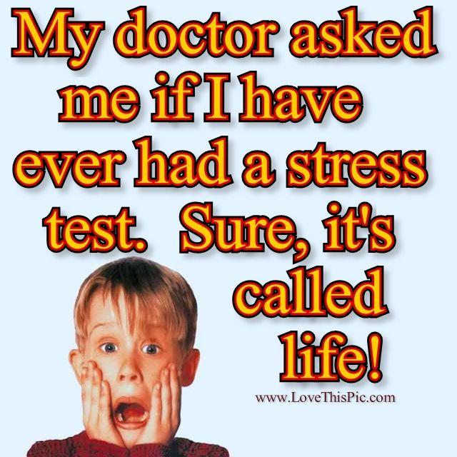 Life Stressor Chart