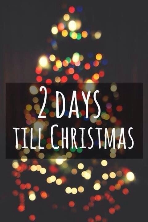 2 days till christmas - Countdown Till Christmas Decoration