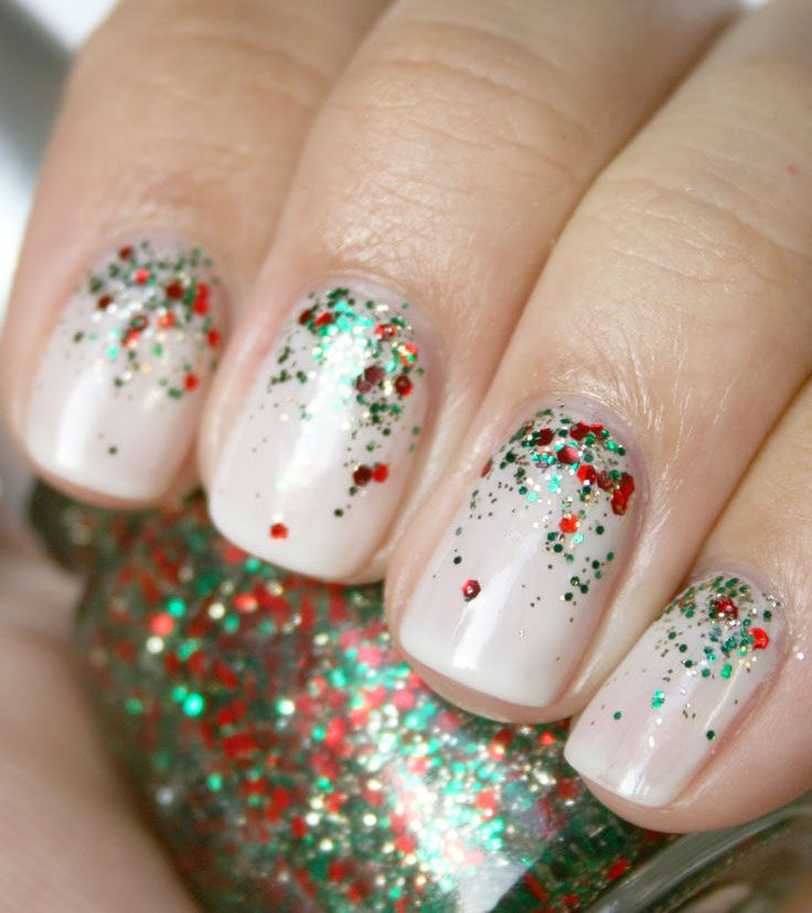 Simple Glitter Nail Art Pictures, Photos, And Images For