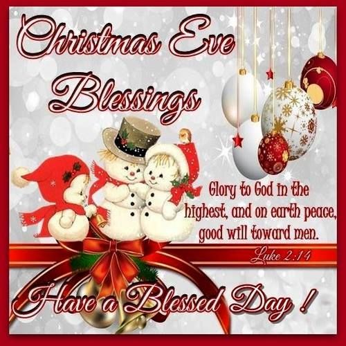 Christmas Good Morning Quotes: Christmas Eve Blessings Pictures, Photos, And Images For