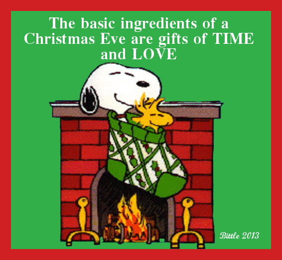 snoopy christmas eve