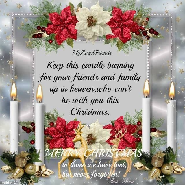 Missing Someone At Christmas Quotes: Friends And Family In Heaven Pictures, Photos, And Images