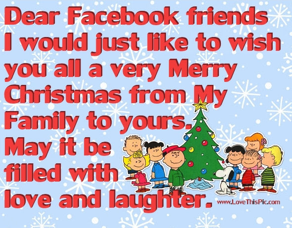 Merry Christmas Facebook Friends Pictures, Photos, and Images for ...