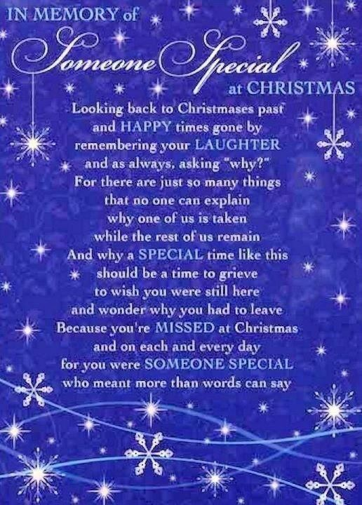 Missing Someone At Christmas Quotes: In Memory Of Someone Special At Christmas Pictures, Photos