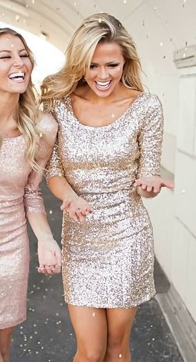 Gold Glitter New Years Eve Party Dress Pictures Photos And Images