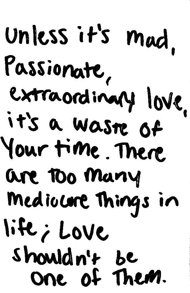 Mad Passionate