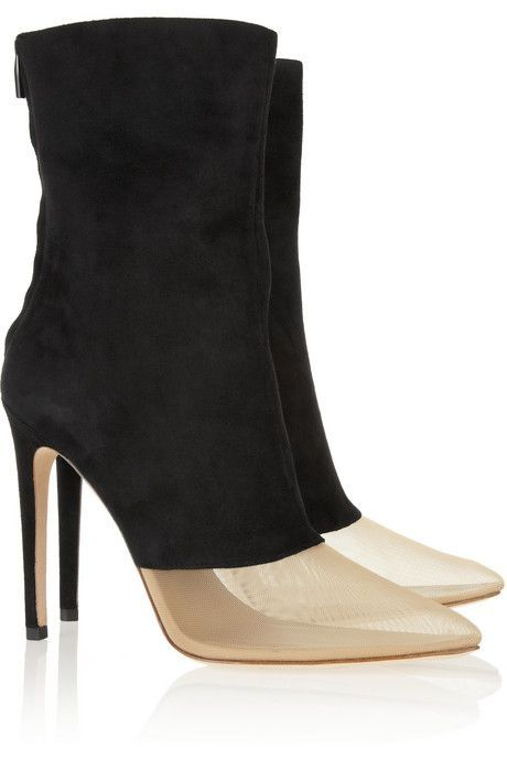 Alexander Wang Gold & Black Boots Pictures, Photos, and Images for ...