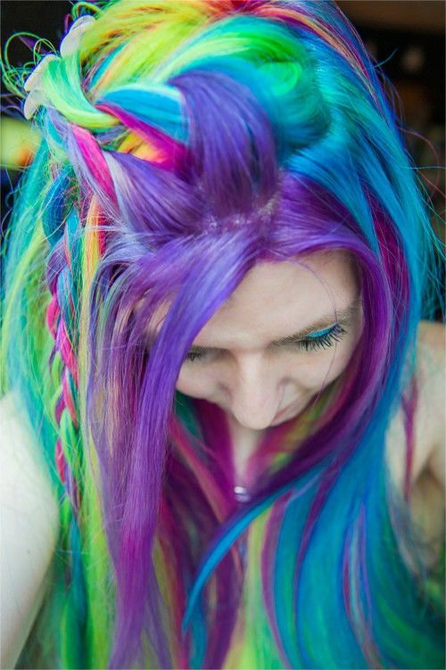Rainbow Hair Pictures Photos And Images For Facebook