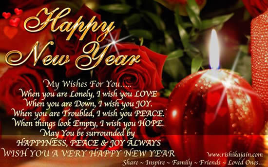 happy new year my wishes for you