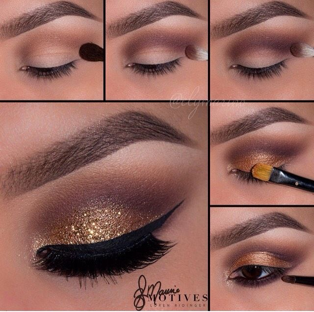 New Years Glitter Eye Makeup Pictures Photos And Images For