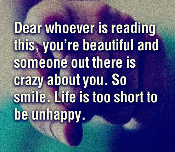 smile life is too short