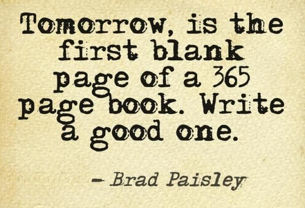 Tomorrow Is The First Blank Page Of A 365 Page Book.... Pictures, Photos, and...