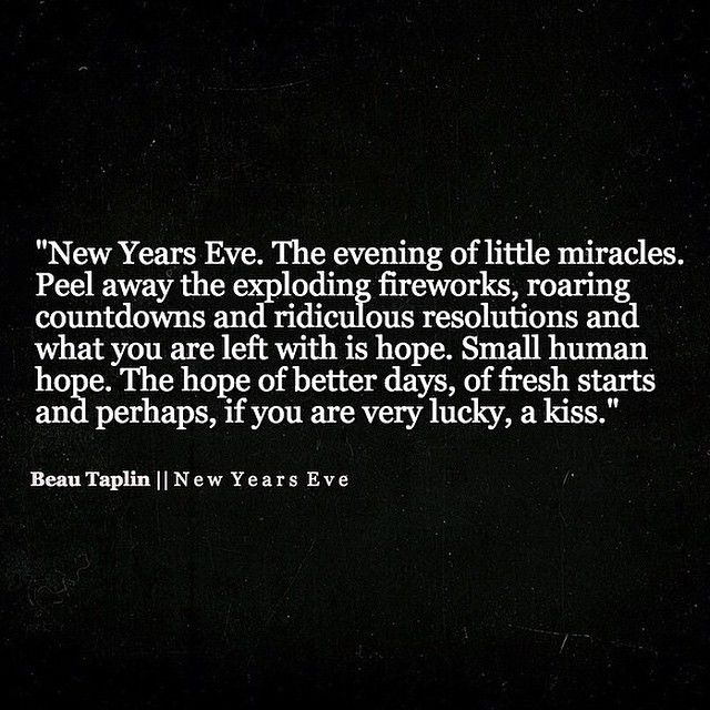 New Years Eve Quotes