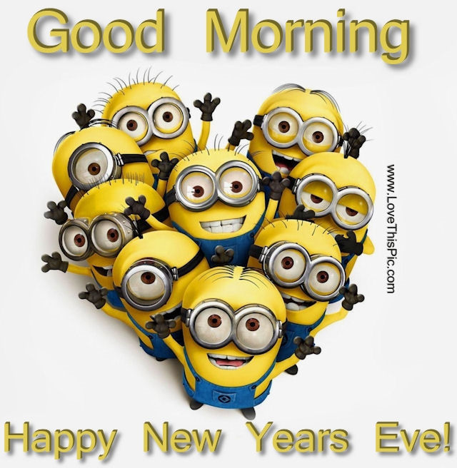 good morning new years eve