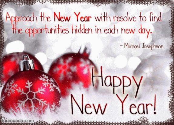 Each New Day Is A New Opportunity To Improve Yourself: Approach The New Year With Resolve To Find The