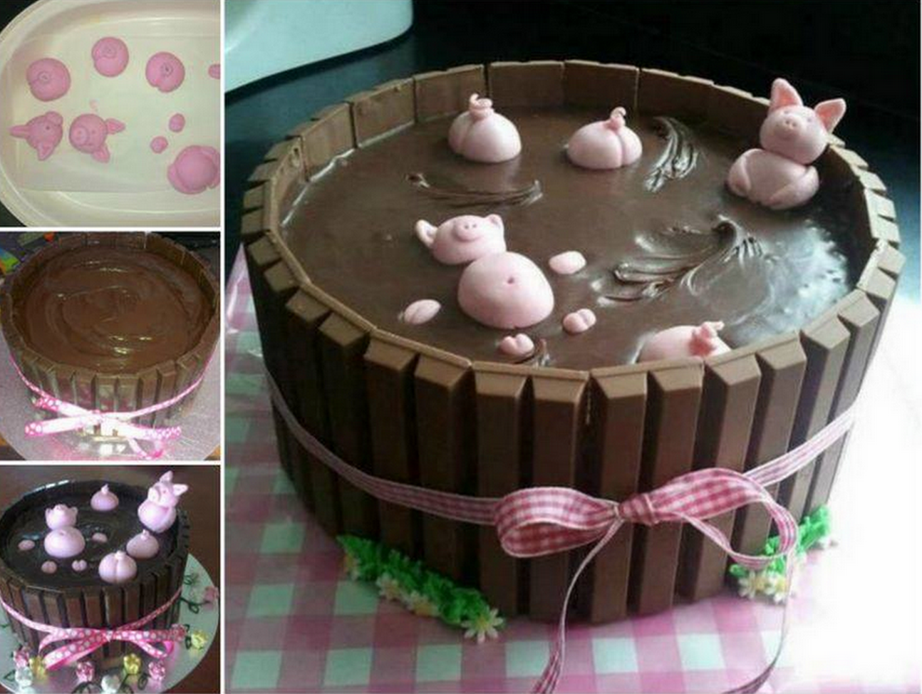How To Make A Pigs In A Mud Cake Pictures Photos And