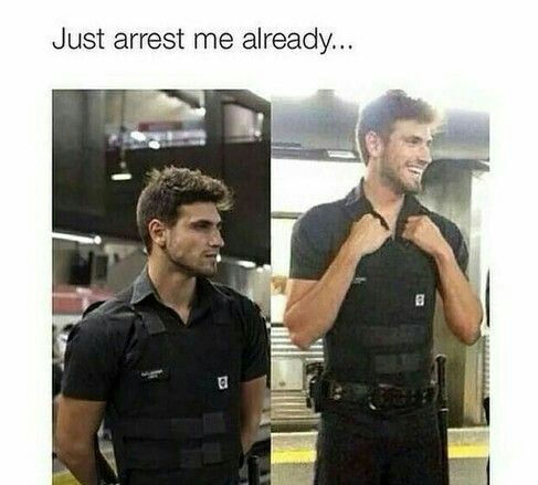 Funny Hot Guy Memes Just Arrest Me ...