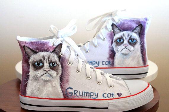 Grumpy Cat Sneakers Pictures, Photos