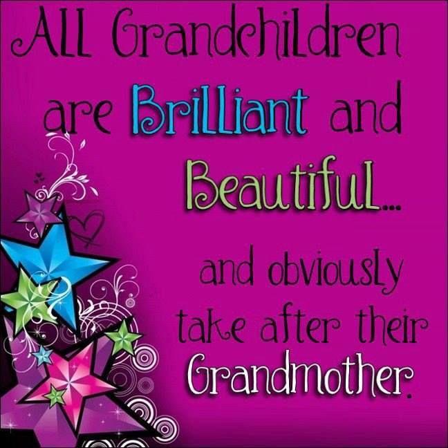 Brilliant Cute Quotes Download: All Grandchildren Are Brilliant Pictures, Photos, And