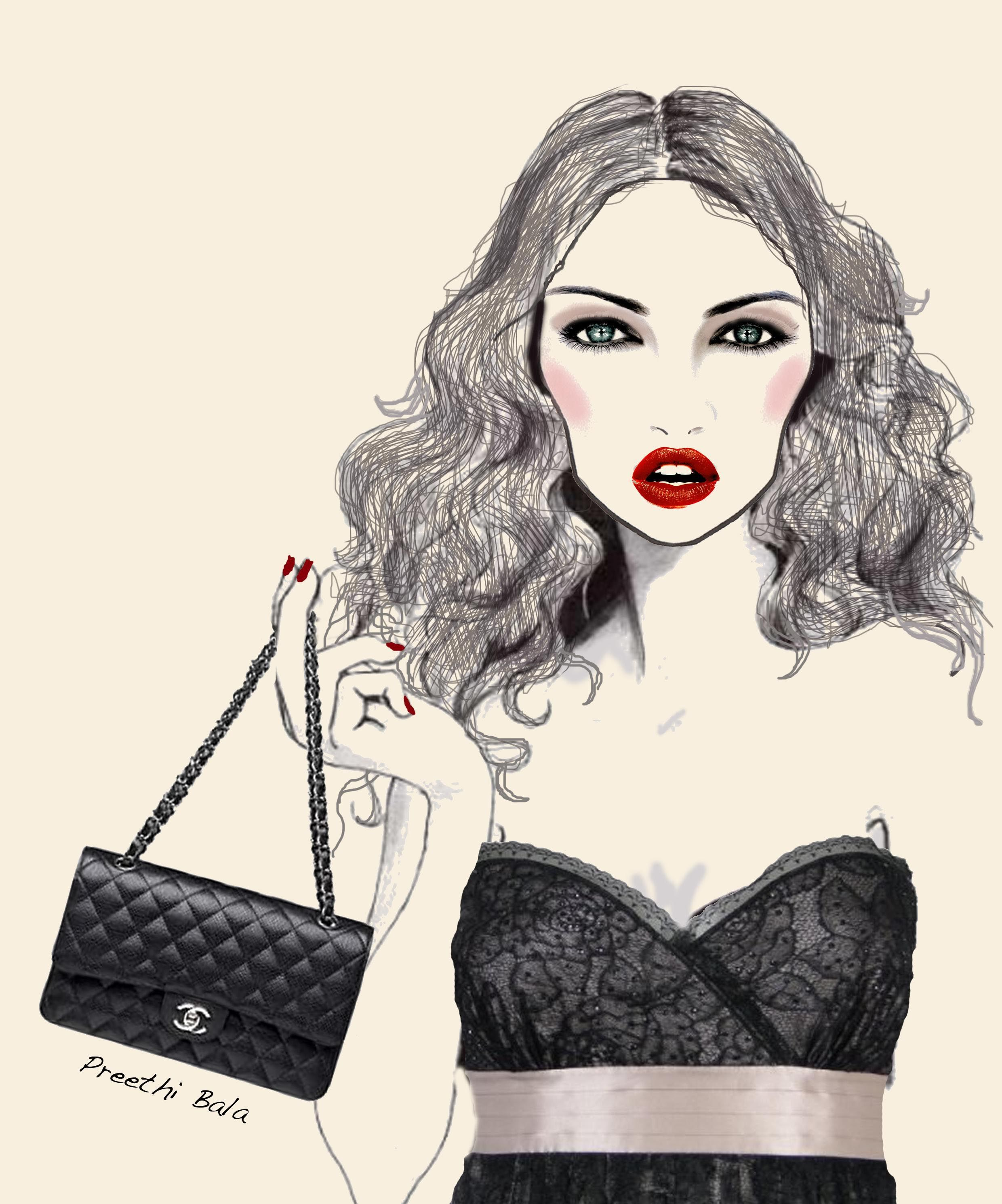 Chanel Fashion Illustration Pictures Photos And Images