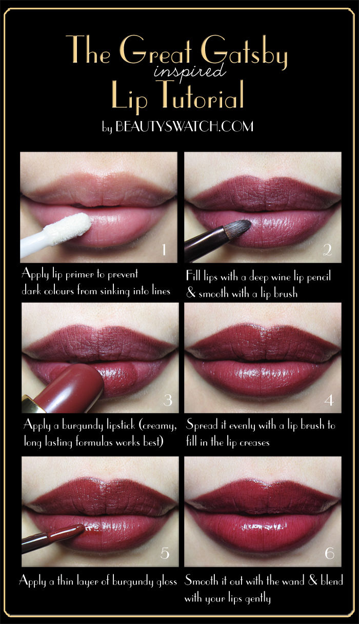 The Great Gatsby Lip Tutorial Pictures Photos And Images