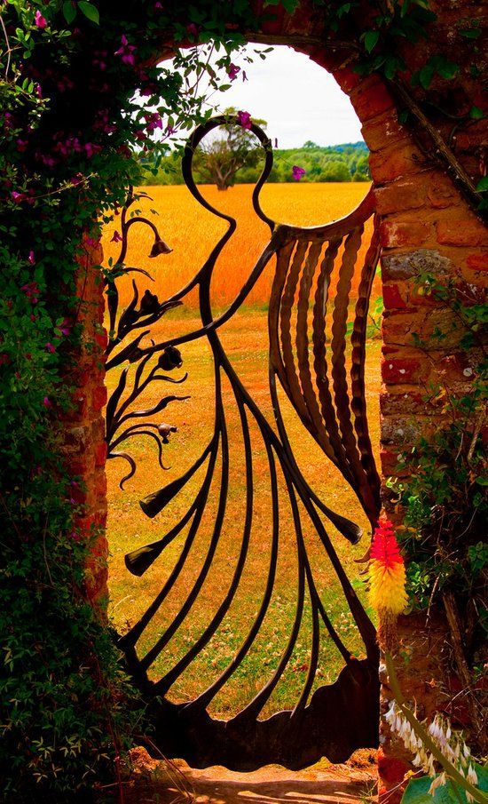 Angel Gate For The Garden Pictures, Photos, and Images for