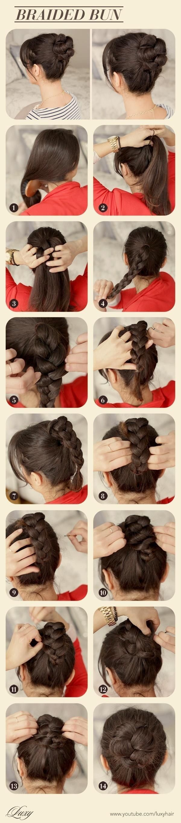 diy braided bun pictures photos and images for facebook