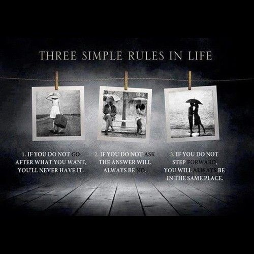 Quotes About Simple Life Simplicity: Three Simple Rules In Life Pictures, Photos, And Images