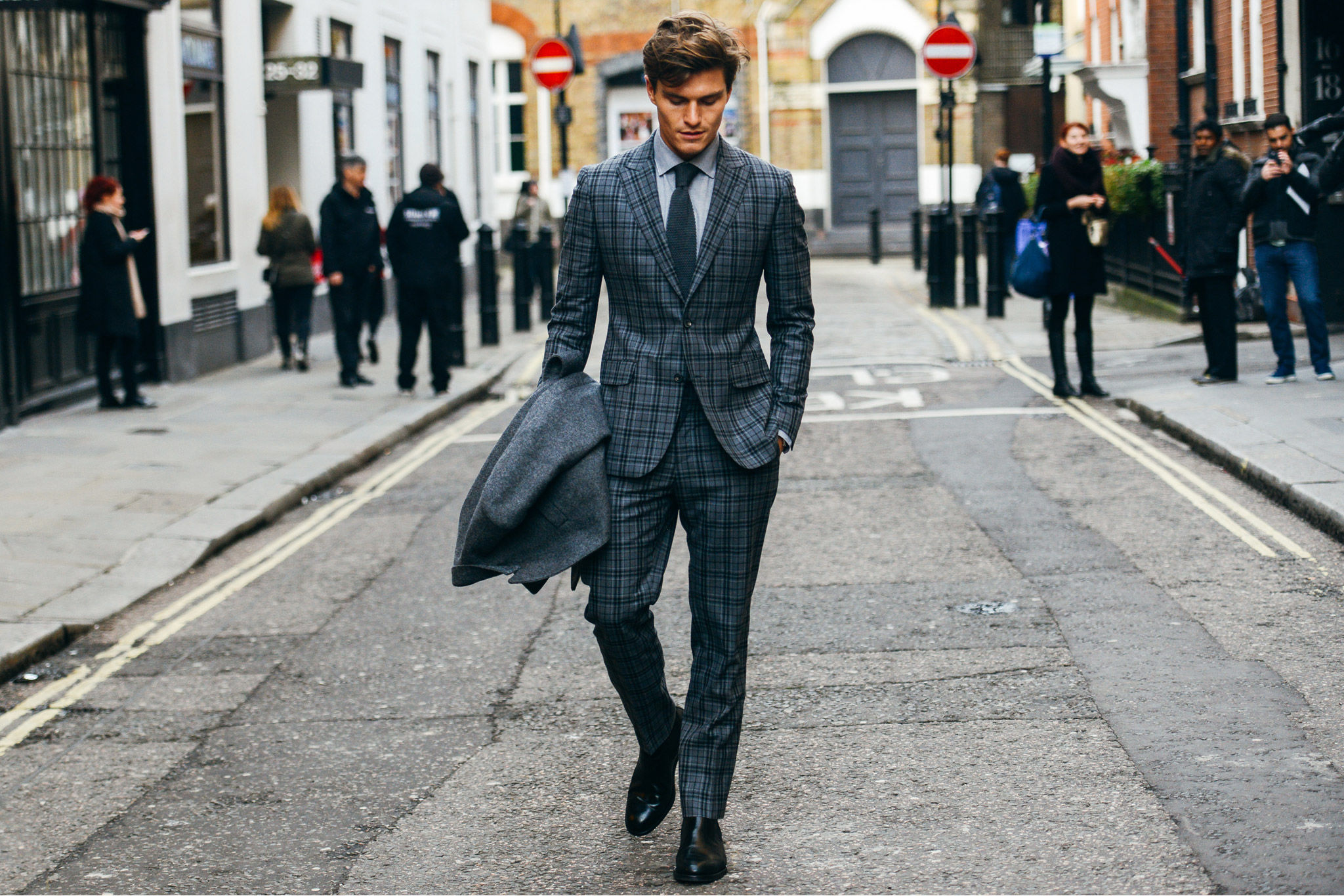 Tommy Ton In London Street Style At 2015 Fall Menswear Shows